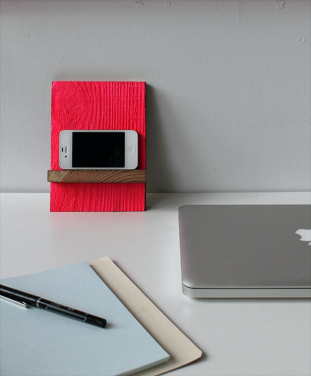 Neon Phone Stand