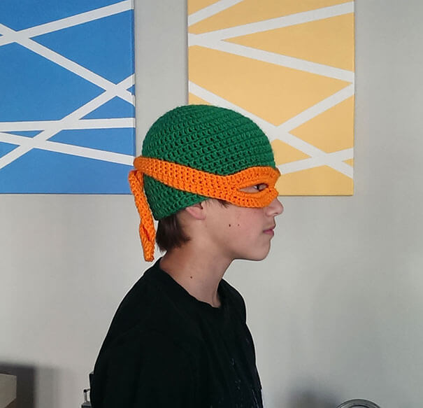 Michelangelo – Teenage Mutant Ninja Turtle Hat