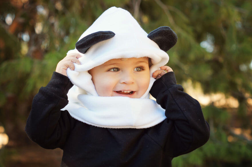 Panda Fleece Hat