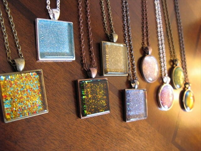 Nail Polish Pendants