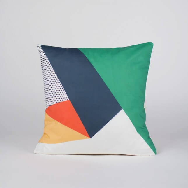 Handcrafted Home Geometric Pillow Cover