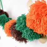 12 Modern & Colorful DIY Super Bowl Party Decorations