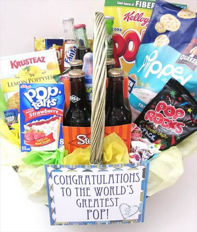 "New ""Pop"" Gift Basket"