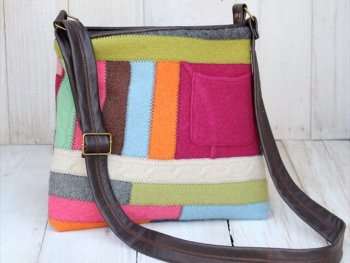 Recycled Sweater Bag