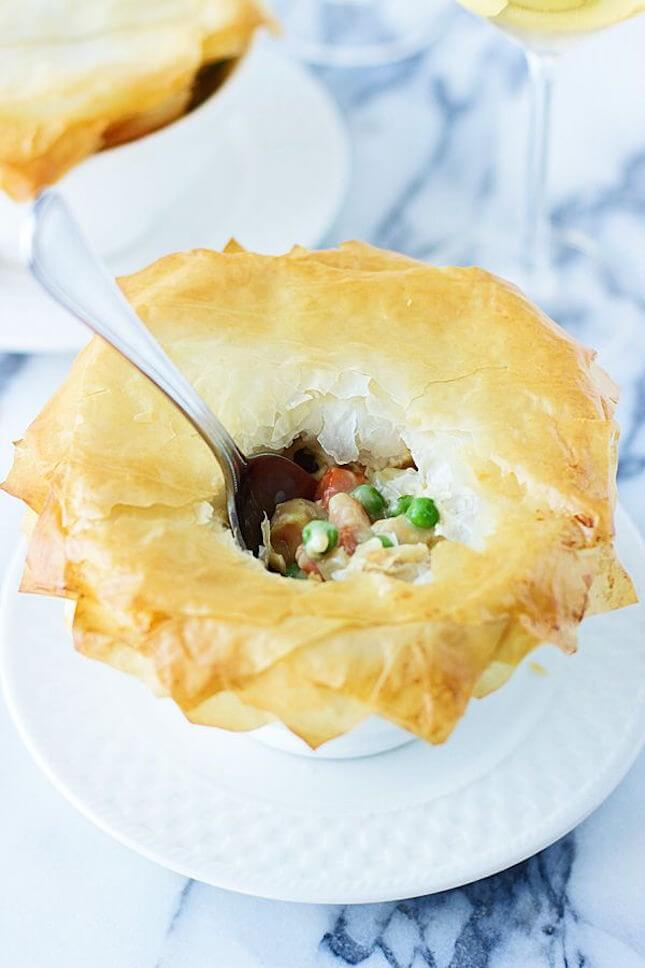 Skinny Chicken Pot Pie: