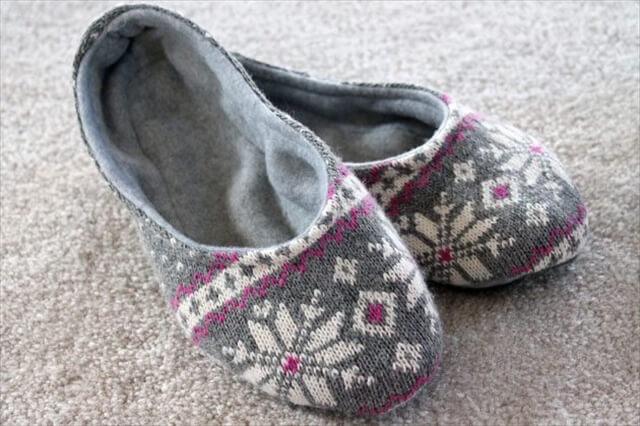 Fleece Lined Slippers