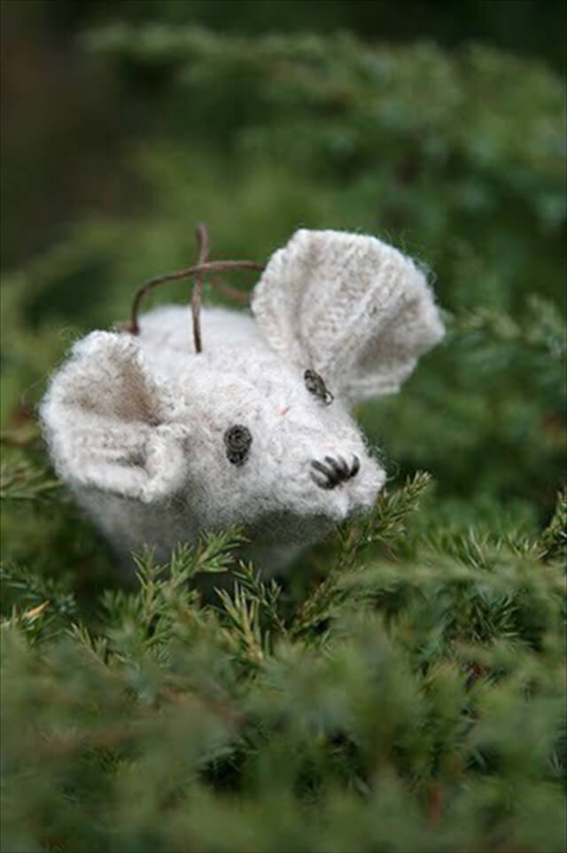Stuffed Mouse Toy