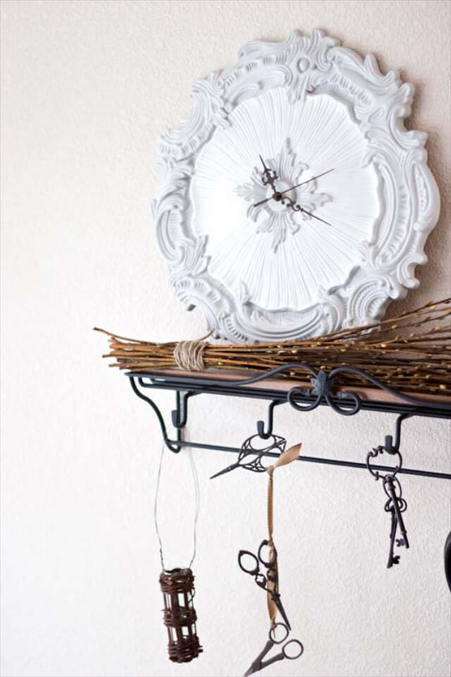 Wall Medallion Clock: