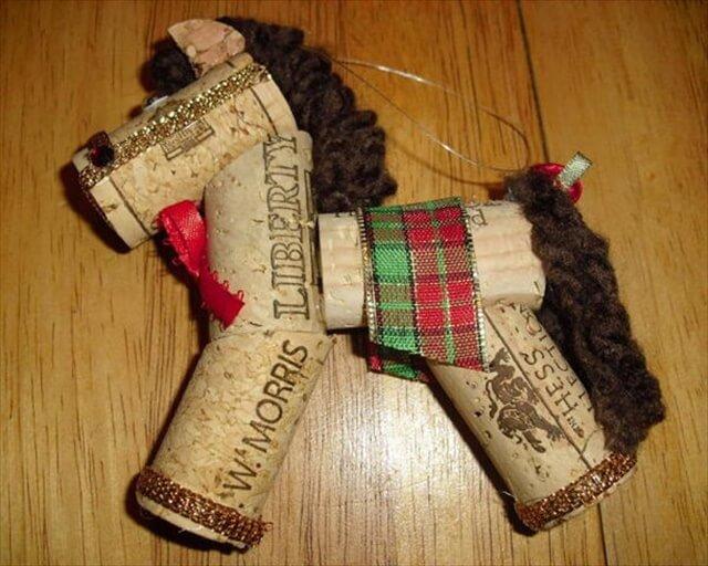 Wine Cork Horse