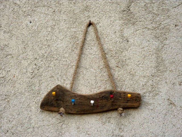 Wall Hanging Wood Key Holder