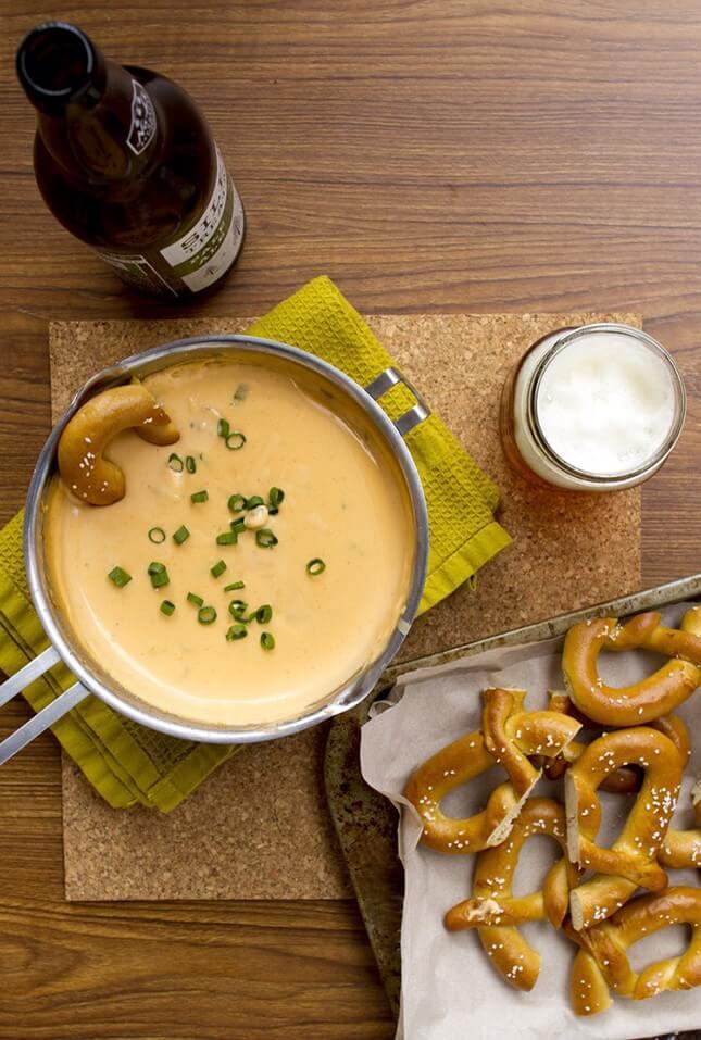 Cheddar + Swiss Beer Dip
