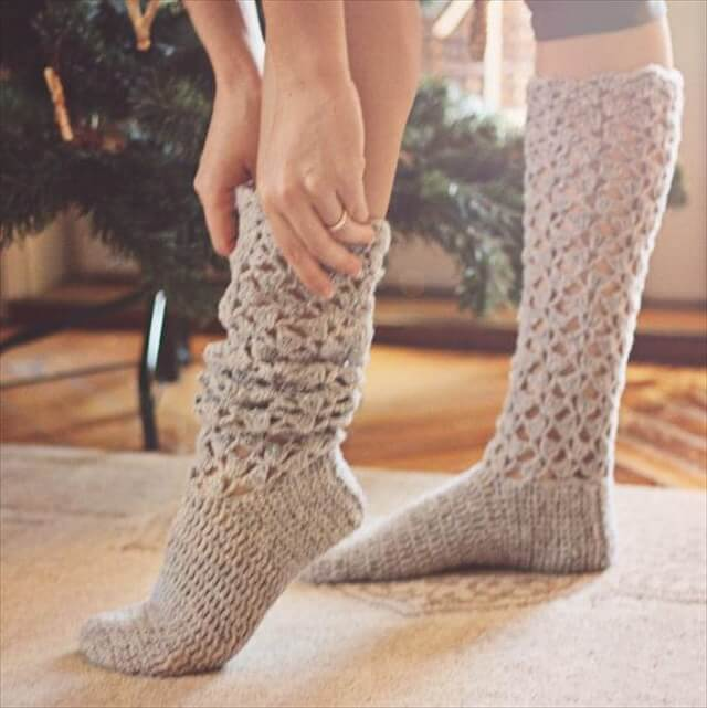 Knitting Knee Socks Pattern Ternion Knee High Socks Pattern
