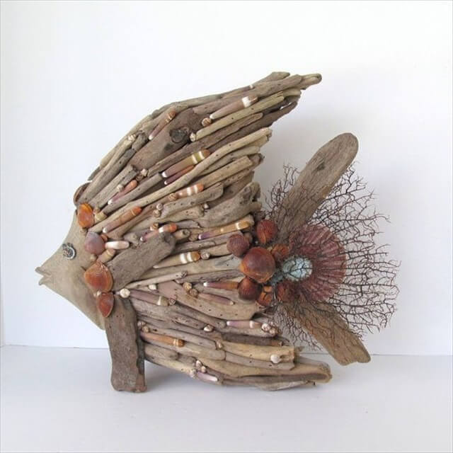 25 diy driftwood ideas diy to make for How to work with driftwood