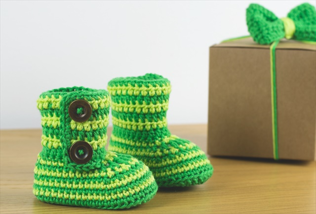 15 Super Easy Crochet Baby Booties Diy To Make