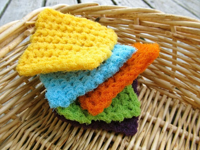 13 Dishcloths Scrubbies Crochet Patterns Diy To Make