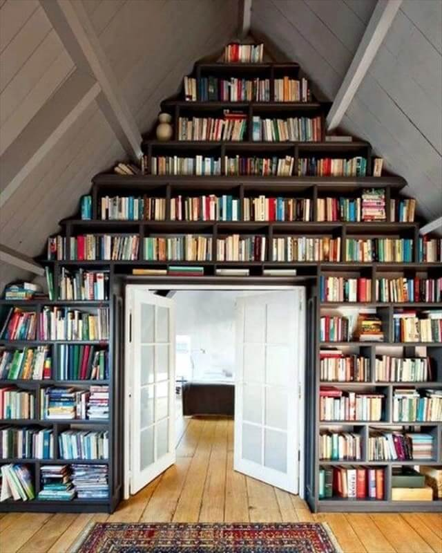 Book wall