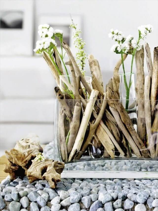 DIY Driftwood Vintage Decorations