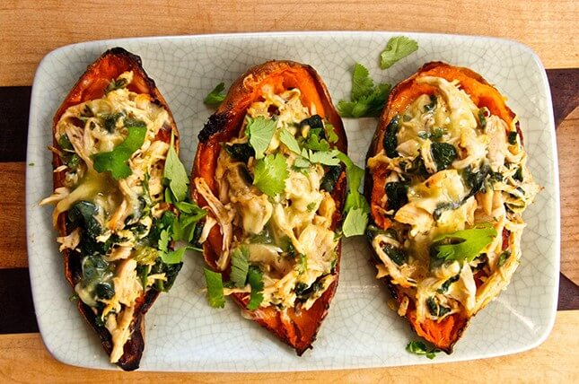 Sweet Potato Skins With Smokin' Chipotle