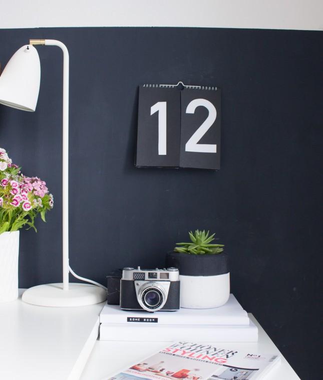 DIY Perpetual Wall Calendar
