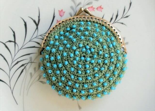 Beaded Knitted Purses, Crochet Coin Purse, Crocheted Coin Purse, Coin Purses, Crochet Purses