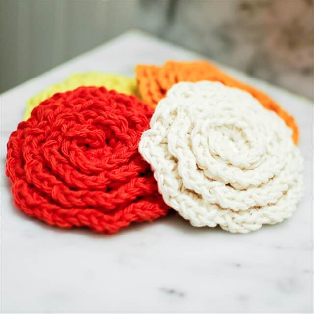 Srubby For Kitchen: 13 Dishcloths & Scrubbies Crochet Patterns