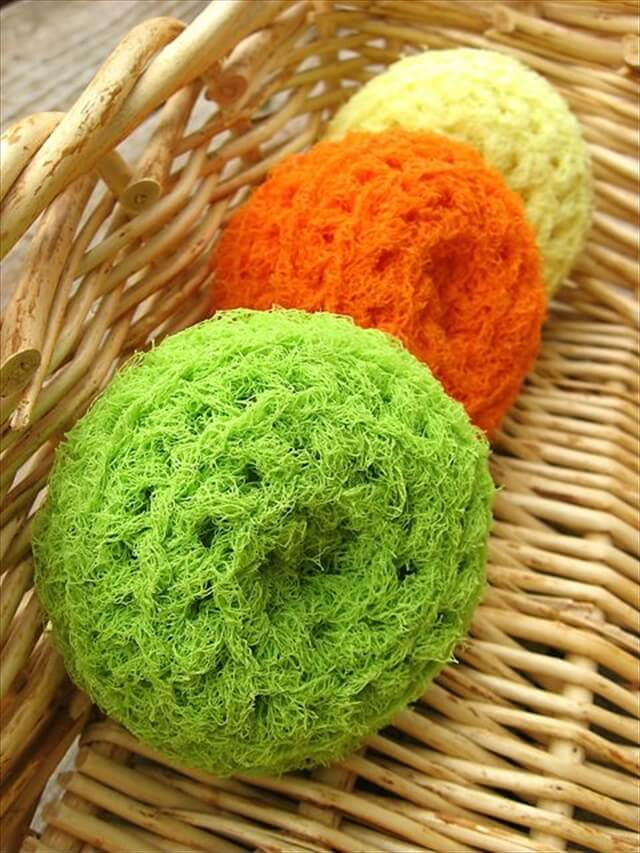 crochet Nylon Net Scrubbies