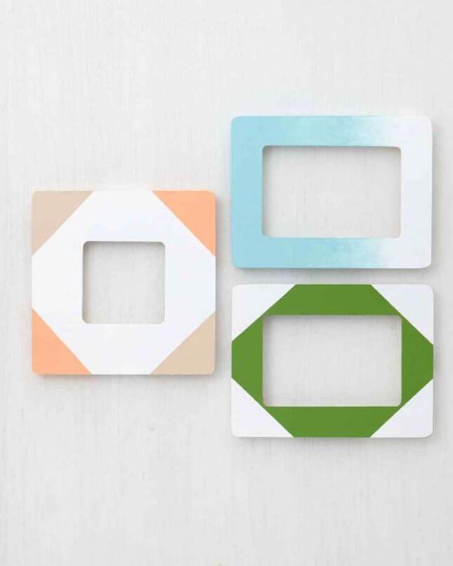 DIY Painted Frames