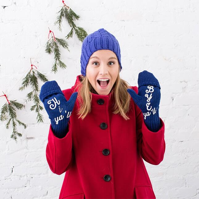 Reese Witherspoon-Inspired Winter Mittens