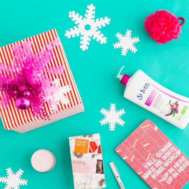 DIY Spa Gift Box
