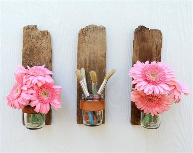 DIY Driftwood Home decorationsWood Fence, Wall Decor, Ideas, Driftwood, Wall