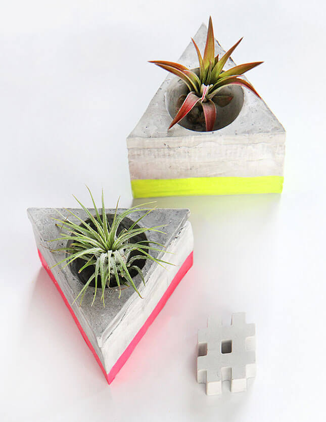 DIY Cement Airplants