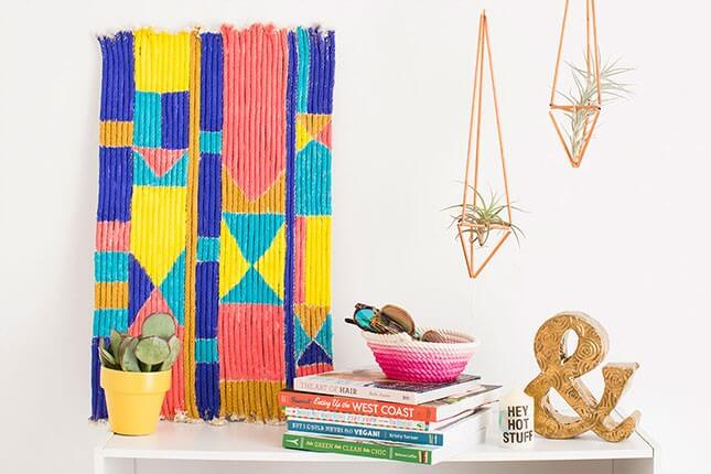 DIY Rope Wall Art