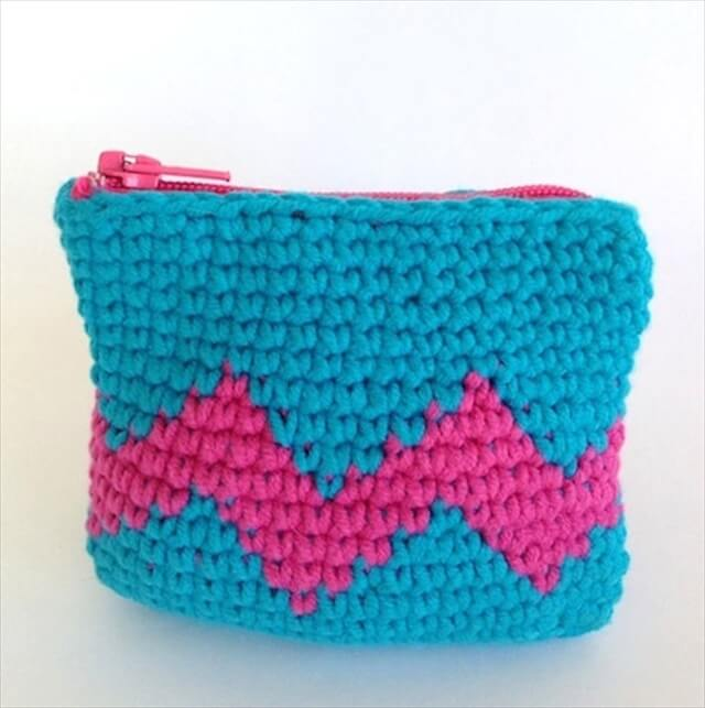 Crochet Coin Purse Pattern : 16 Crocheted Coin Purses Ideas DIY to Make