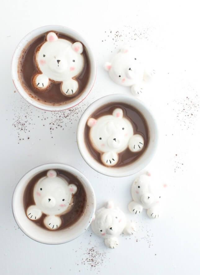 DIY Teddy Bear Marshmallows