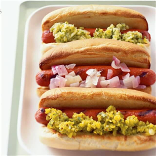 Three-Pickle Relish