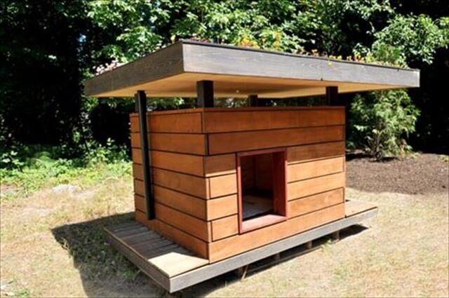 Amazing diy pallet dog house ideas: