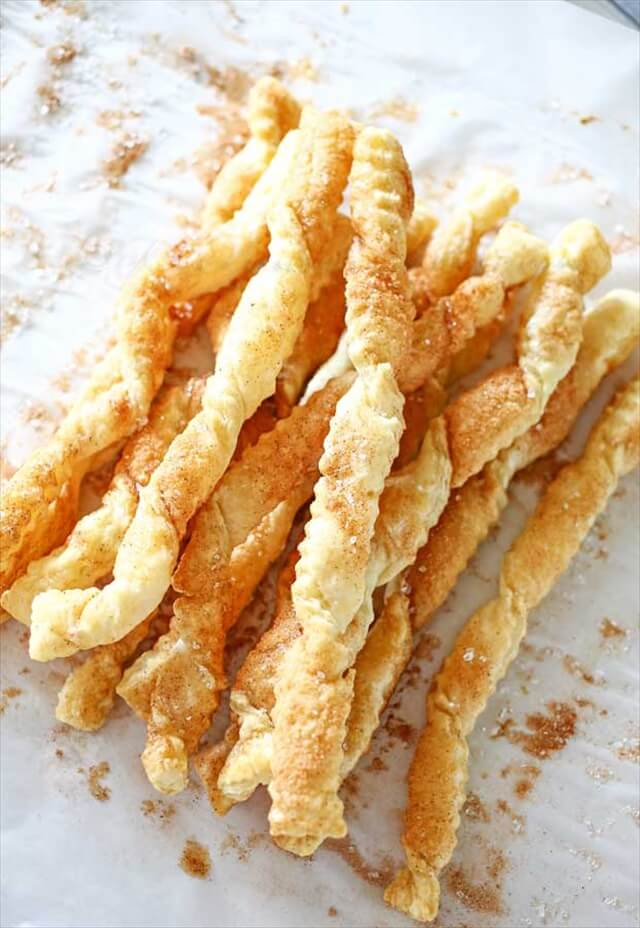 Churro Twist Cookies