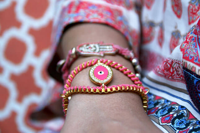 Evil Eye Bracelet: