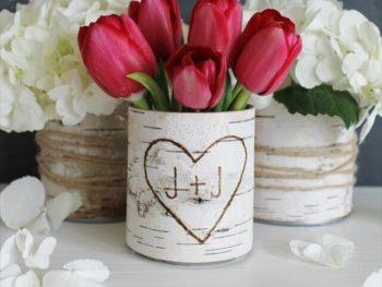 Bark Vases
