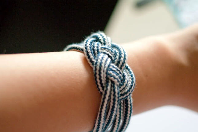 Nautical Rope Bracelet: