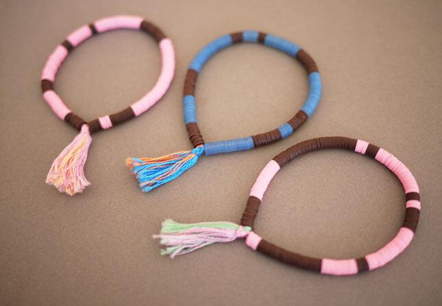 Sequin Bracelet: