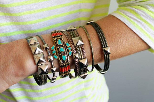 Studded Bangles: