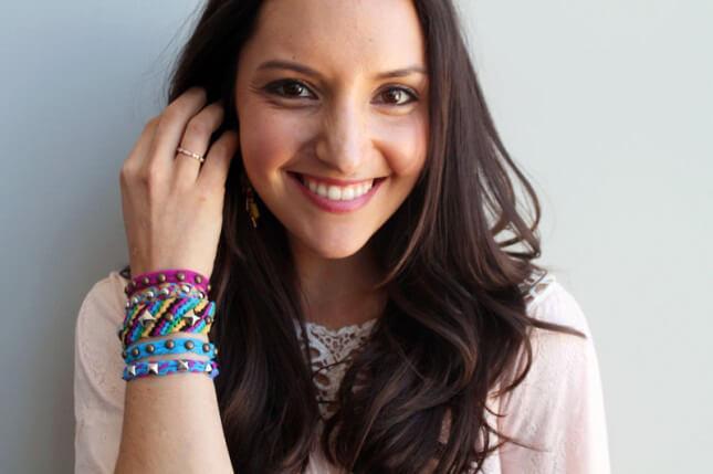 Tulle Studded Bracelets: