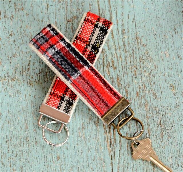 Fabric Keychain