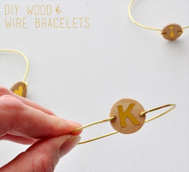 Wood & Wire Bracelets