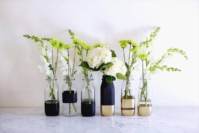 Color Block Vases