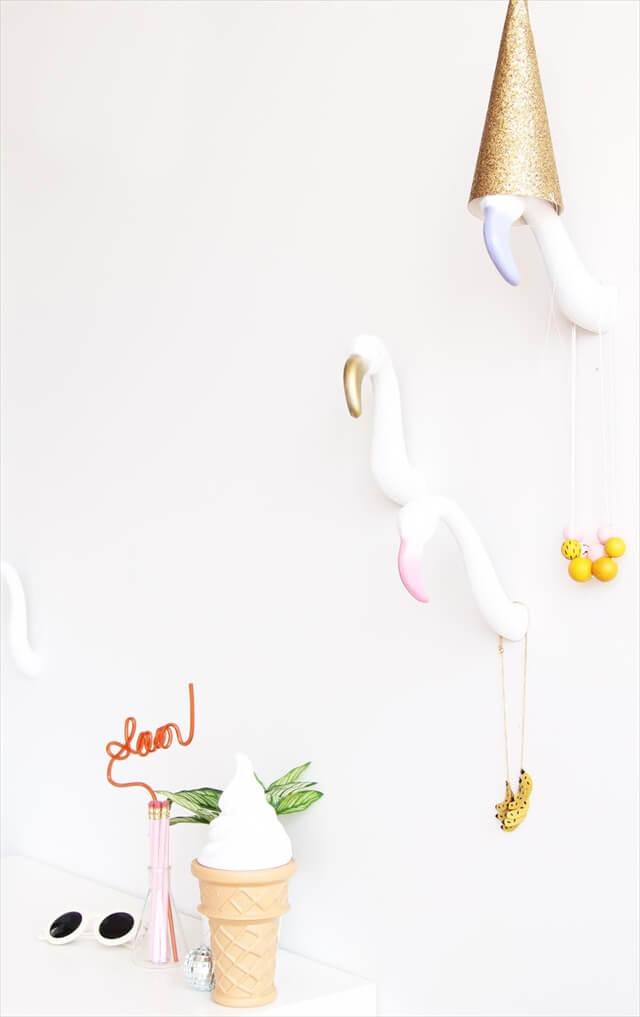Flamingo Wall Hooks