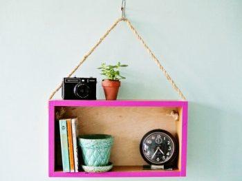Hanging Wall Shelf: