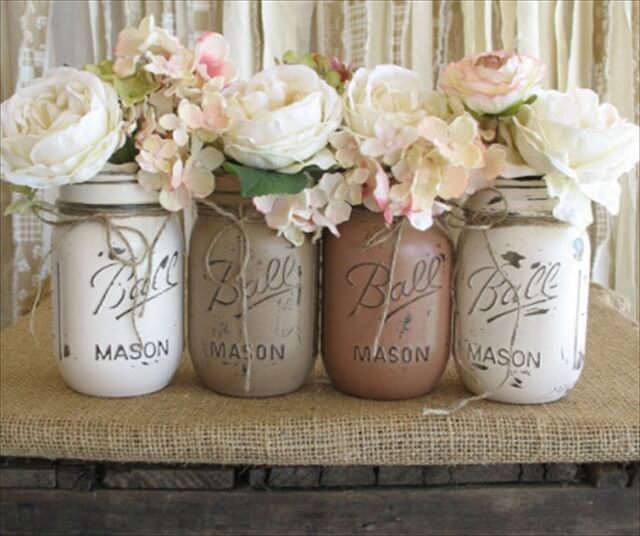 Clever mason jar ideas.