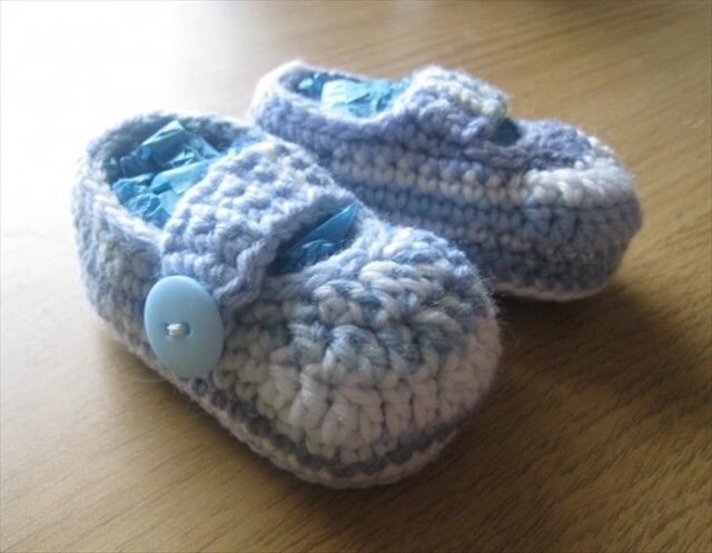 Crochet Baby Booties Patterns